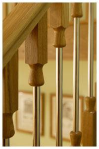 Ikon Contemporary Oak Balustrading Ikon Stairparts