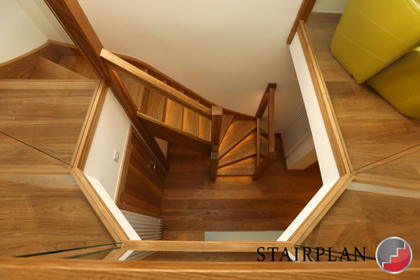 Townsend luxury oak staircase