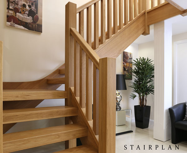 New townsend oak staircase in our UK showroom