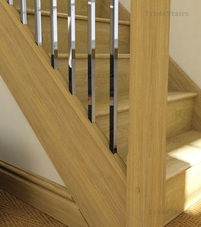 axxys squared stairs new square baluster