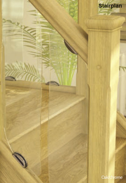 Clearview glass balustrade panels
