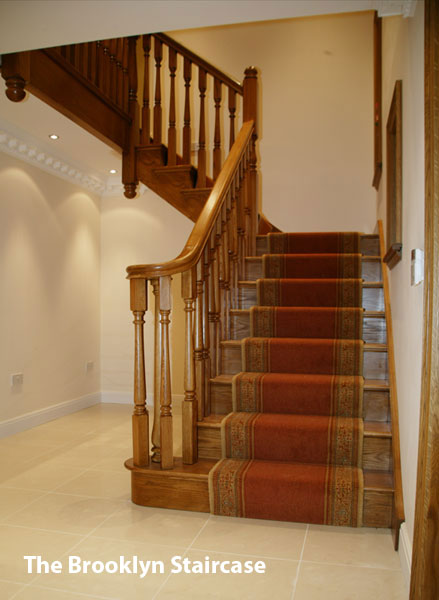 Traditional oak staircases for London
