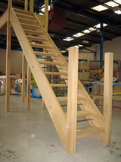 Hardwood external staircases