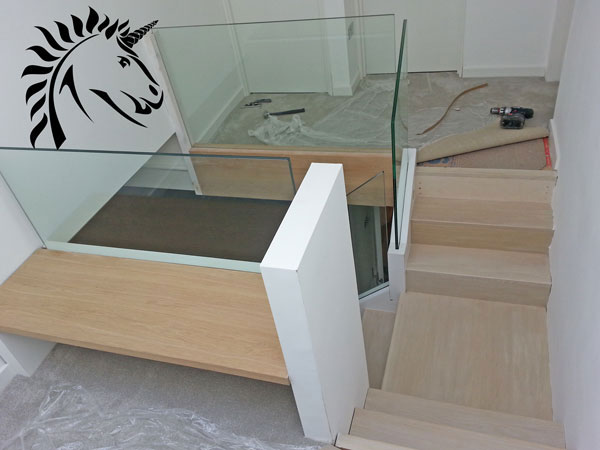 Frameless laminated Glass Balustrade
