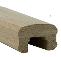 Solution Oak Handrail Profile