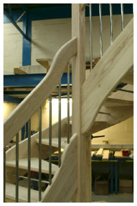 Ash Openplan staircases