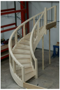 Curved Staircases ...