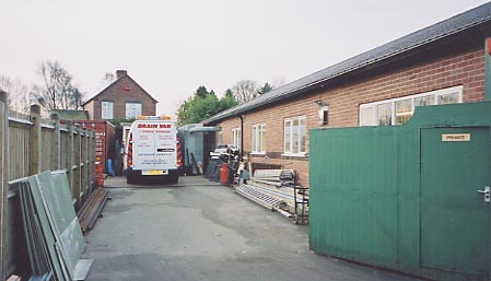 Outside the dawley workshop