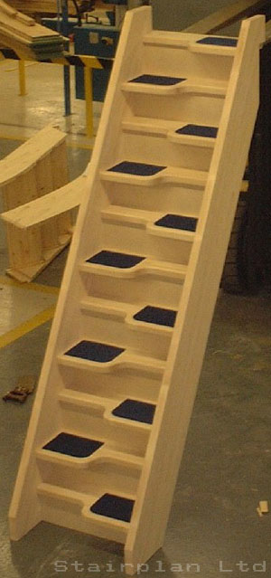Beech 40 Spacesaver Staircase