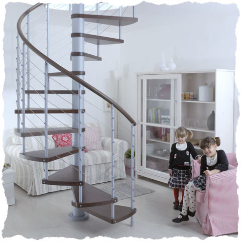 Kloe Spiral staircase the contemporary choice