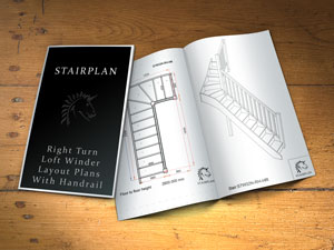 recommended minimum stair width for loft staircases