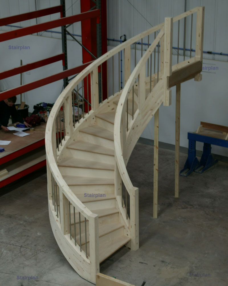 Stairplan Curved Stairs