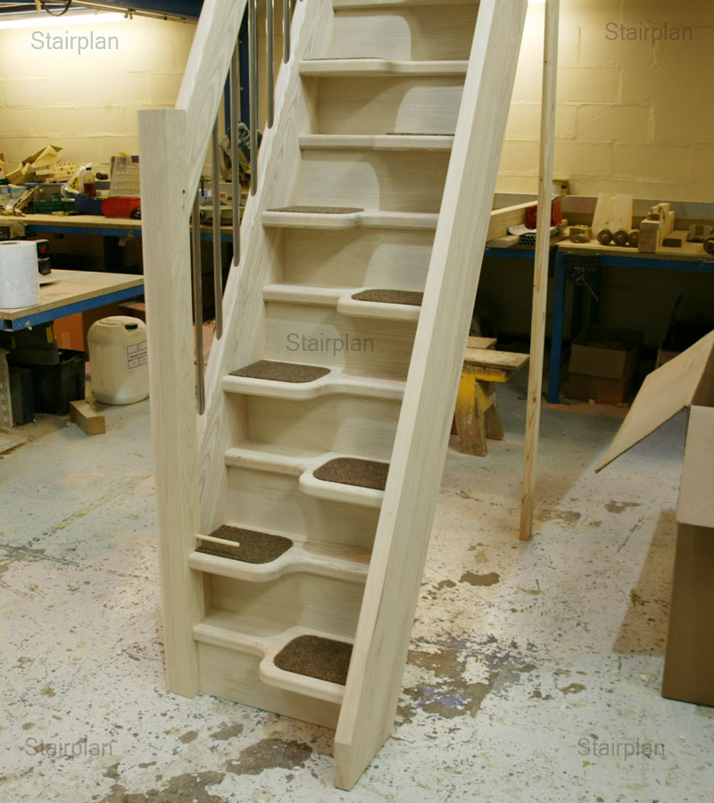 Ash loft staircases