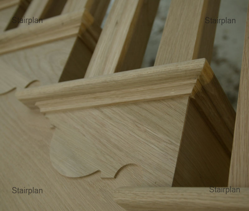 Quality is important on cut string staircases