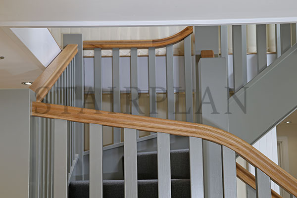 staircase for barn conversion