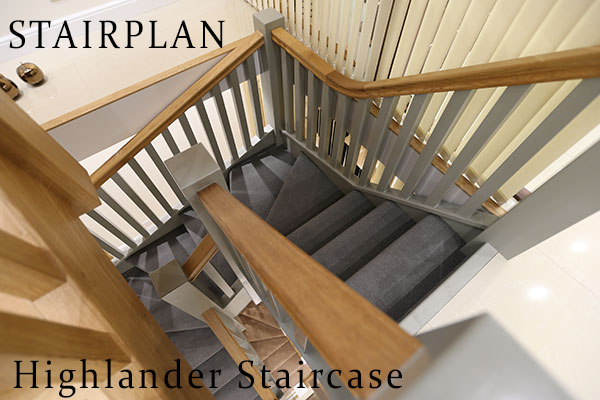 The Highlander Staircase Character and quality