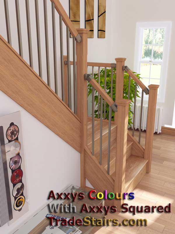 New Axxys squared range of Stairparts