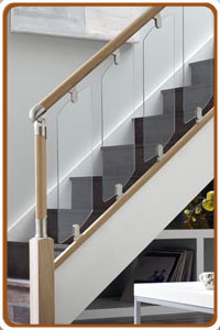 Fusion Glass Stair Spindles