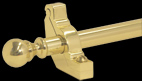 Balladeer Brass Stair Rods