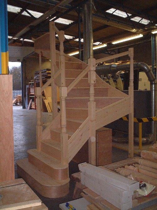 Bespoke Winder Staircases