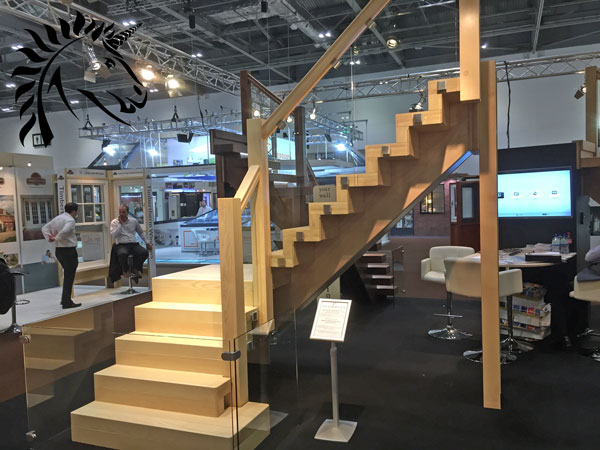 white ash v vision staircase bold statement staircase design