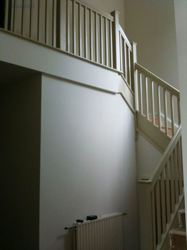 Staircase before conversion