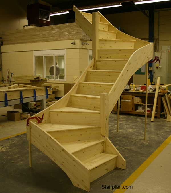 Z form Winder Staircase